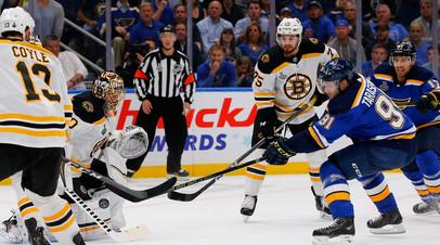 Тарасенко вышел на третье место в гонке снайперов плей-офф НХЛ