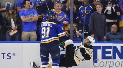 Тарасенко вышел на пятое место по голам за один розыгрыш плей-офф НХЛ среди россиян