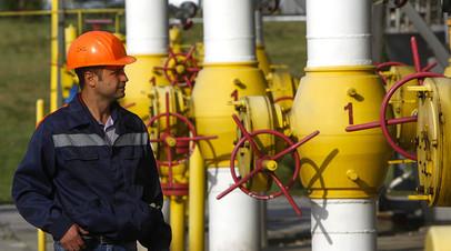 Инфраструктура подземного хранилища газа в Львовской области