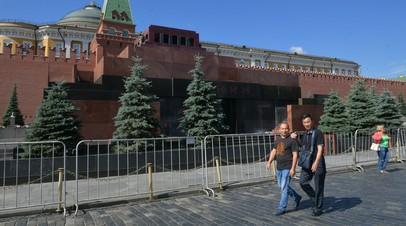 Источник: угроза взрыва в Мавзолее Ленина не подтвердилась