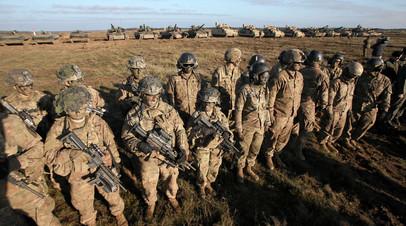 Военнослужащие армии США на учениях в Польше