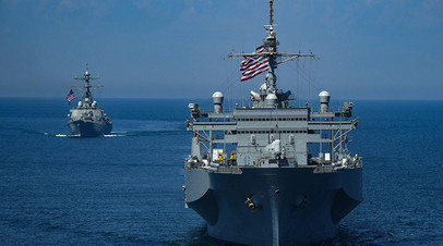 Корабли ВМС США в Чёрном море