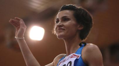 Чичерова показала лучший результат сезона в мире на турнире в Жуковском