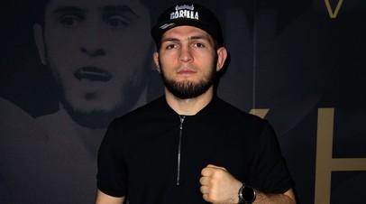 Российский боец смешанных единоборств, чемпион UFC в лёгком весе Хабиб Нурмагомедов