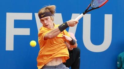 Рублёв проиграл в квалификации турнира АТР в Галле
