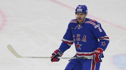 СМИ: Клуб КХЛ «Спартак» подпишет контракт с бывшим защитником СКА Херсли