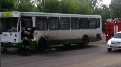 В Кирове наградят мужчину, спасшего пассажиров из горевшего автобуса