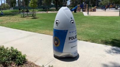 В США заступил на службу робот-полицейский