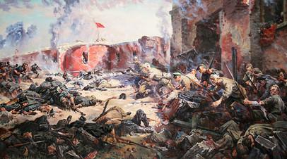 Пётр Кривоногов, картина «Защитники Брестской крепости», 1951-й год
