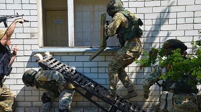 В Брянской области прошли антитеррористические учения