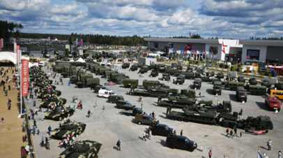 На форуме «Армия-2019» представили колёсную самоходку 2С41 «Дрок»