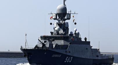 Малые ракетные корабли «Серпухов» и «Мытищи» направились в Кронштадт для участия в форуме «Армия-2019»