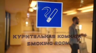 В транспортной полиции оценили возможность возвращения мест для курения в аэропорты
