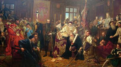Ян Матейко, «Люблинская уния» (1869 год)