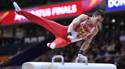 Гимнаст Белявский завоевал золото в многоборье на ЕИ-2019
