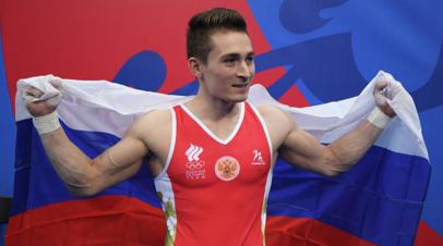 Гимнаст Белявский завоевал золото ЕИ-2019 в упражнениях на коне