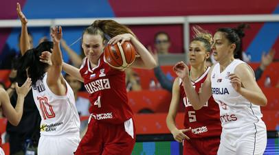 Женская сборная России сыграет с Италией в плей-офф Евробаскета