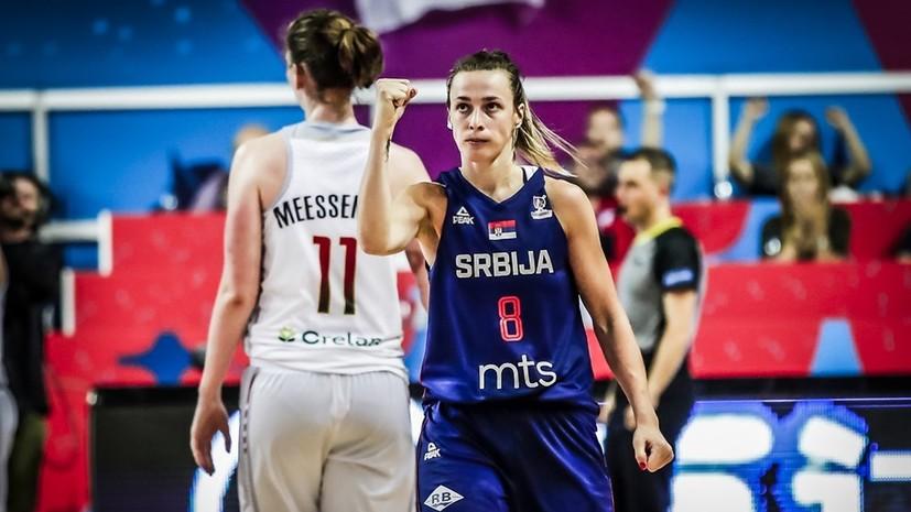 Определились все участники плей-офф женского Евробаскета-2019