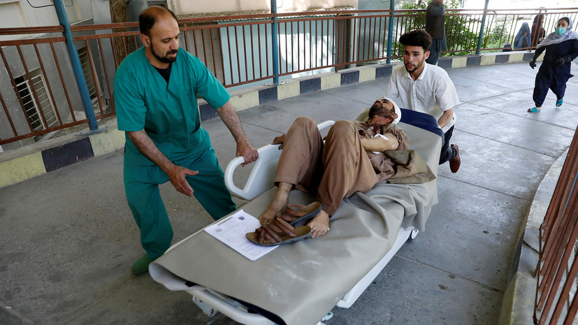 Более 20 человек пострадали в результате взрыва в Кабуле