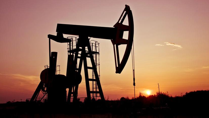 Цена на нефть WTI превысила $60 за баррель