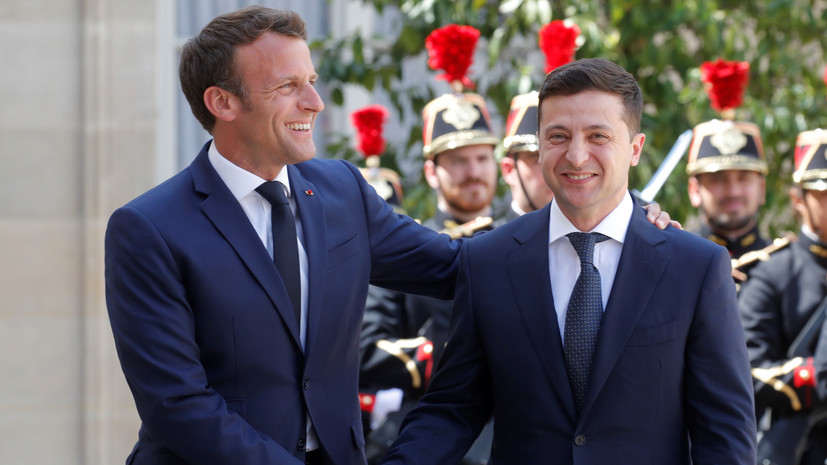 Посол Франции заявила о наличии «химии» между Зеленским и Макроном