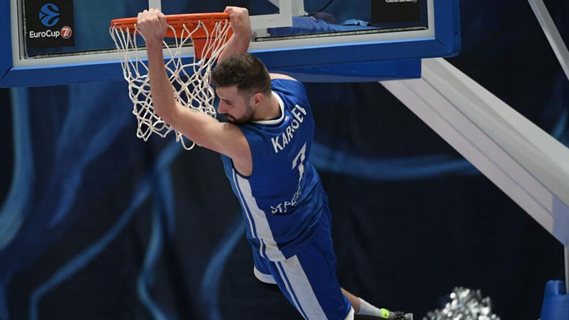 «Зенит» объявил об уходе баскетболиста Карасёва