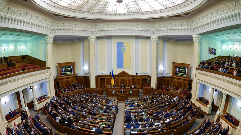 Опрос показал лидерство партии «Слуга народа» в парламентском рейтинге