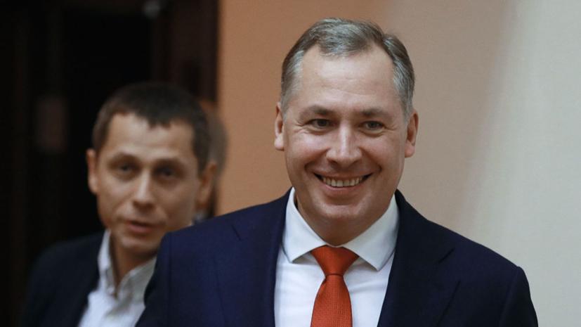 Глава ОКР встретил сборную России по возвращении с ЕИ-2019