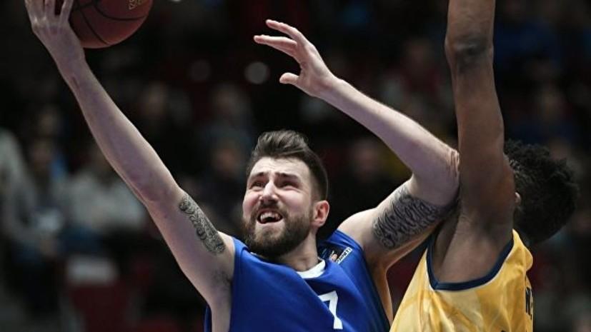 «Химки» объявили о переходе баскетболиста Карасёва