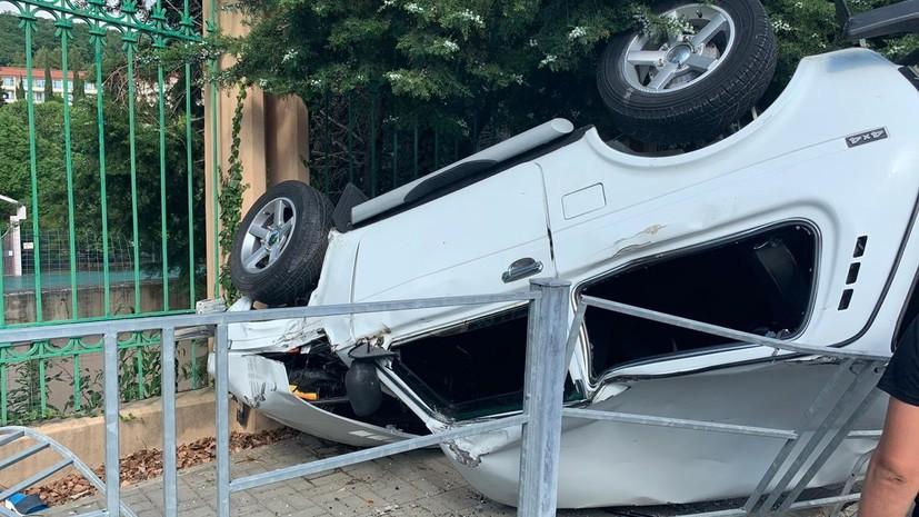 В Сочи арестовали водителя по делу о ДТП с тремя погибшими