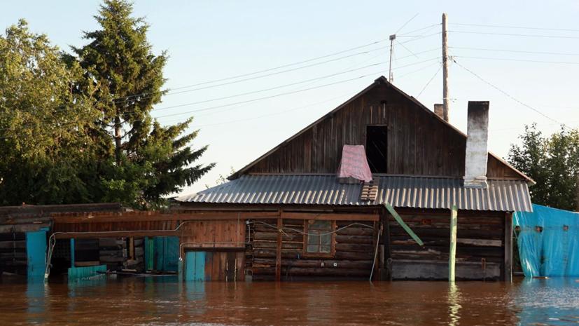 Вода ушла из трёх населённых пунктов Иркутской области