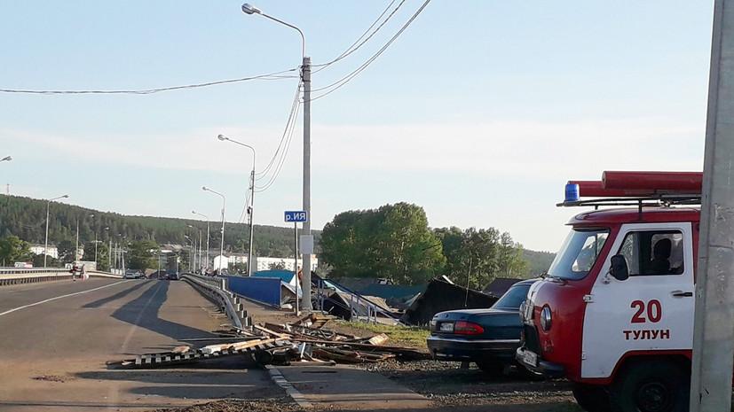 В Тулуне открыли движение автомобилей по мосту через реку Ия