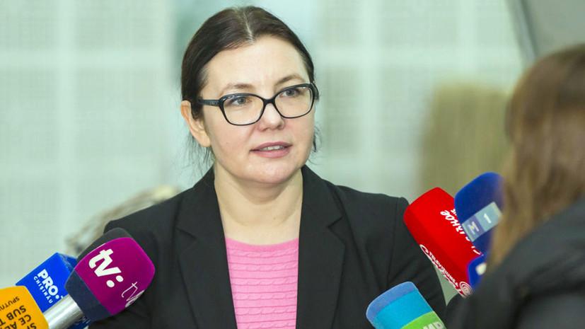 Глава ЦИК Молдавии подала в отставку