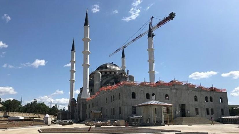 В Симферополе благоустроят территорию соборной мечети