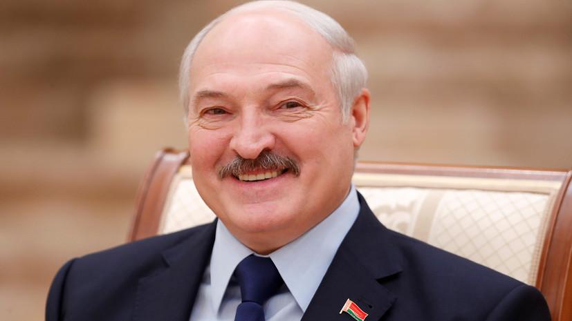 Лукашенко поздравил белорусов с 75-летием освобождения страны
