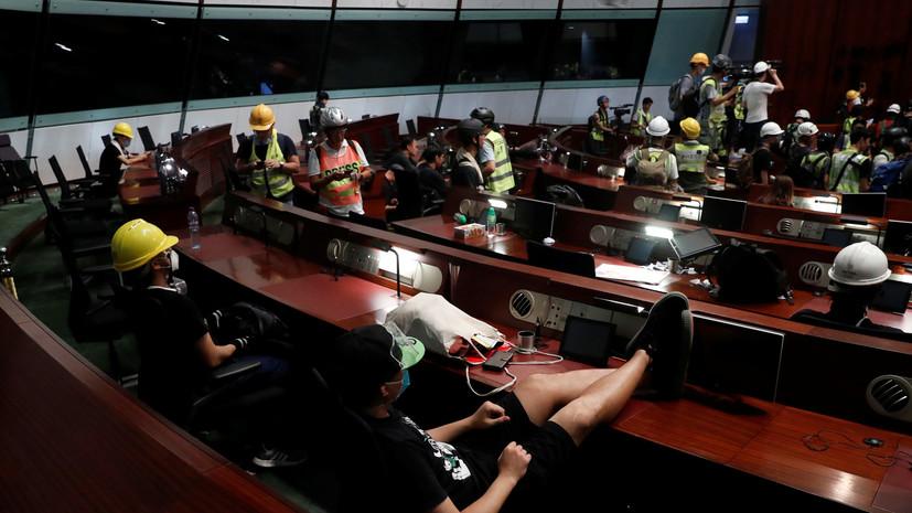 Пекин сделал Лондону представление из-за позиции по протестам в Гонконге