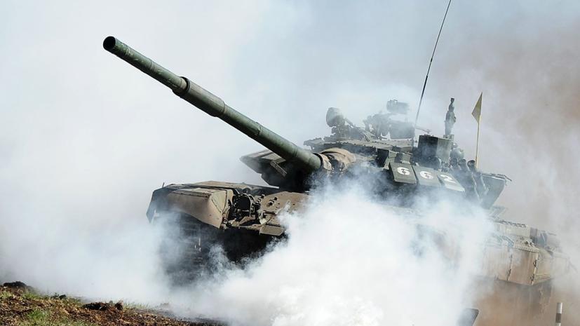 Мотострелки и танкисты ЗВО провели учения в Ленобласти