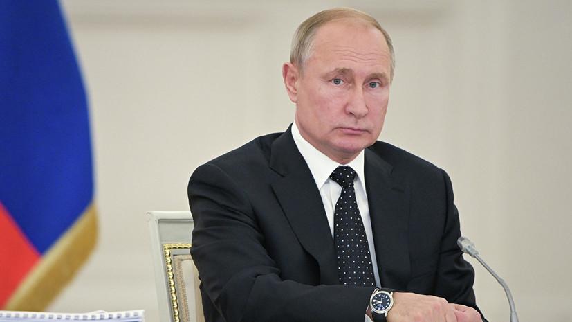 Путин поручил создать механизм сглаживания колебаний цен на авиакеросин