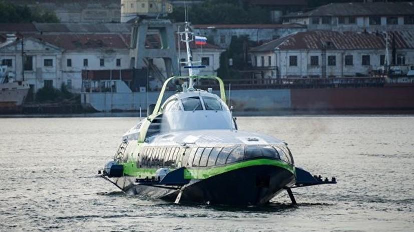 Катер «Комета» перевёз более 9 тысяч пассажиров между Севастополем и Ялтой в июне