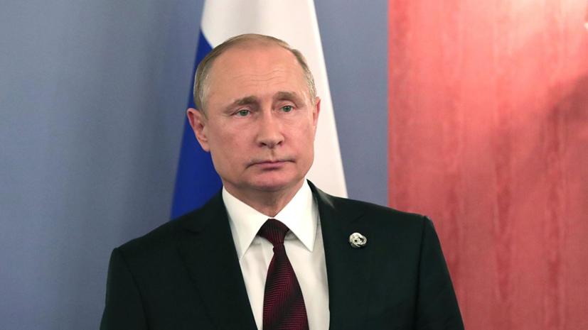 Путин поручил увеличить выплаты по уходу за детьми