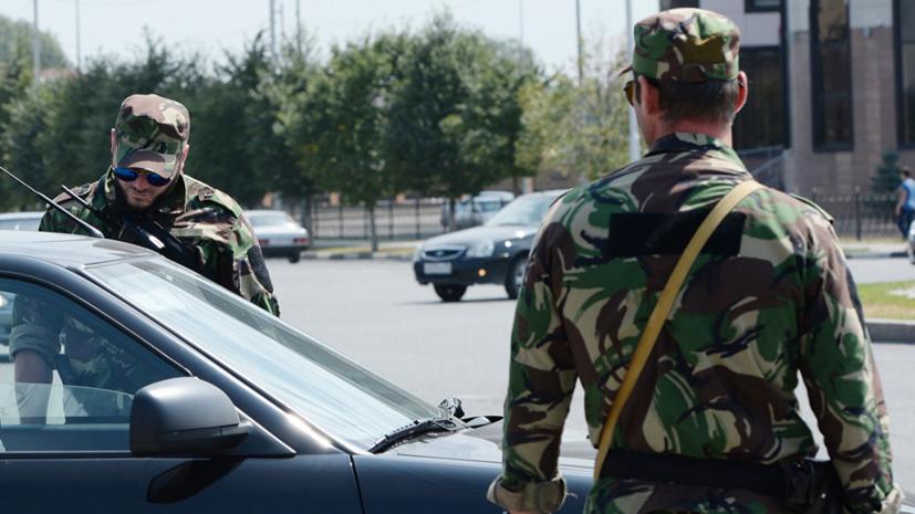 Установлена личность напавшего на полицейский пост в Чечне