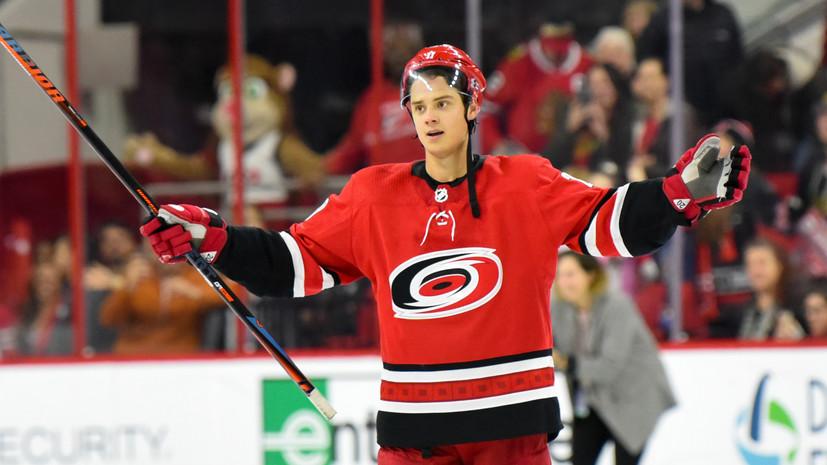 СМИ: Клуб НХЛ «Каролина» повторит контрактное предложение «Монреаля» и сохранит форварда Ахо