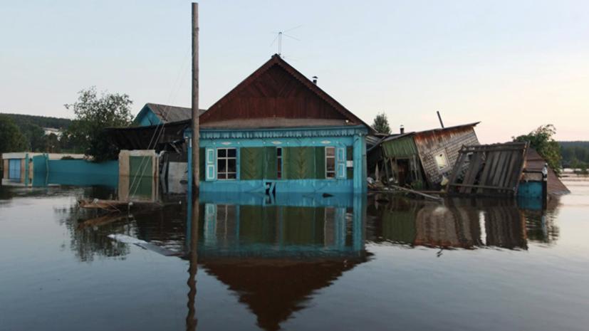 Уровень воды в иркутской реке Ия превышает критическую отметку на 53 см