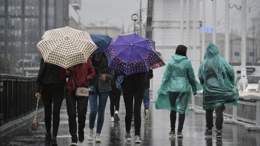 В Москве 4 июля объявили «жёлтый» уровень погодной опасности