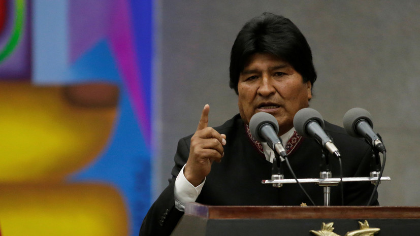 Глава Боливии заявил о заинтересованности в покупке российского оружия