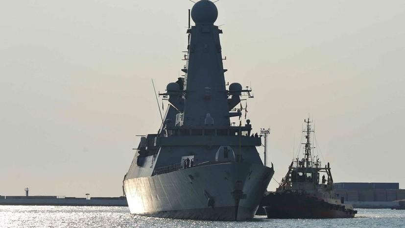 Российские военные следят за кораблями НАТО в Чёрном море
