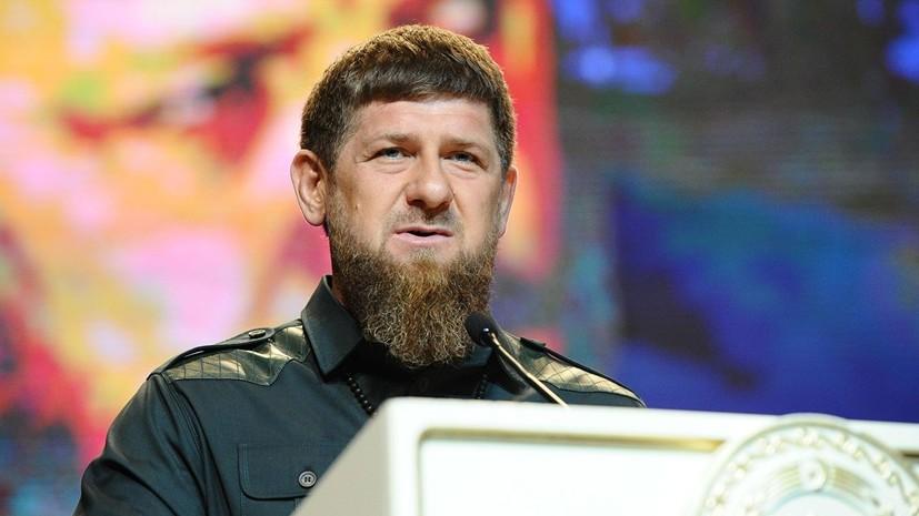 Кадыров выразил соболезнования в связи с гибелью моряков-подводников