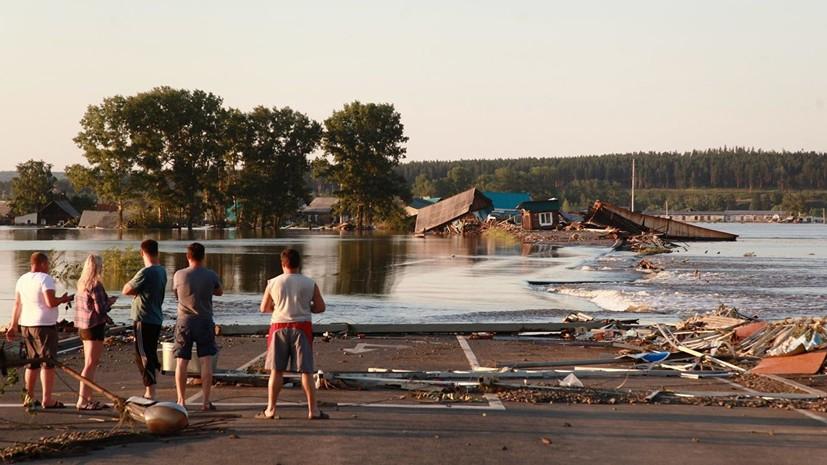 Число жертв паводков в Иркутской области увеличилось до 20