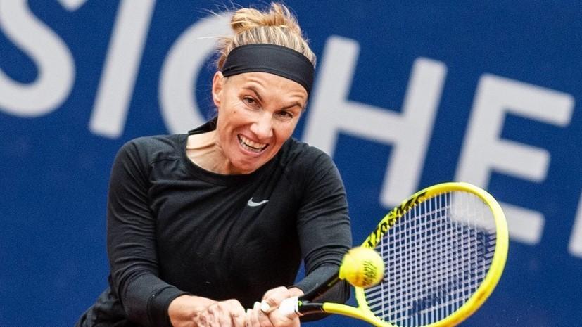 Теннисистка Кузнецова раскритиковала журналиста, призвавшего Шарапову завершить карьеру