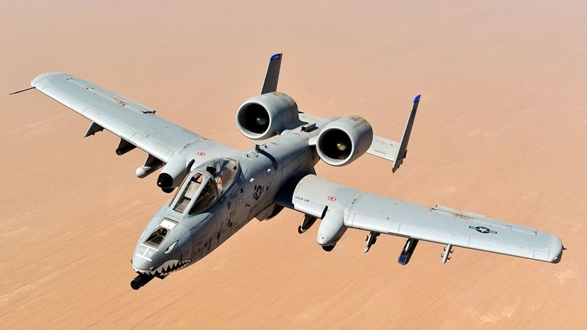 Самолёт ВВС США сбросил учебные бомбы после столкновения с птицей
